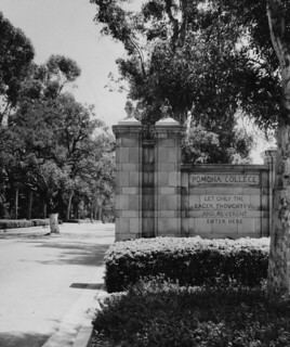 Early image of the College Gates