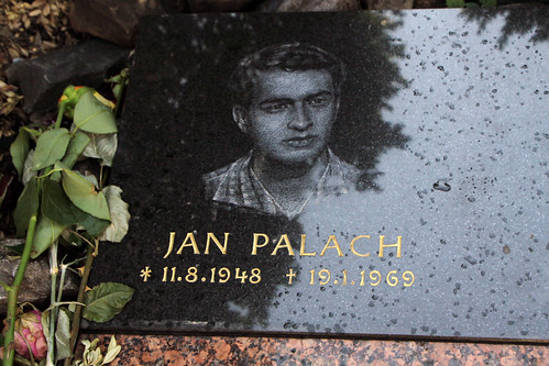 Memorial to Jan Palach, Prague
