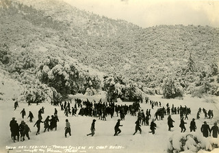 Snow Day at Camp Baldy in 1923