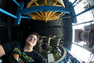 Self Portrait with Saturn V