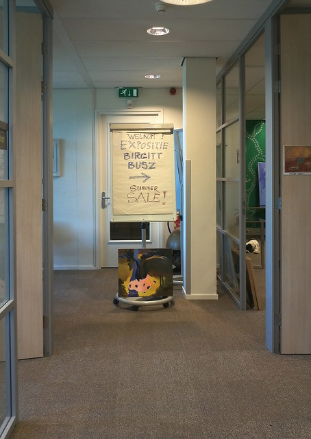 Exhibition in an office