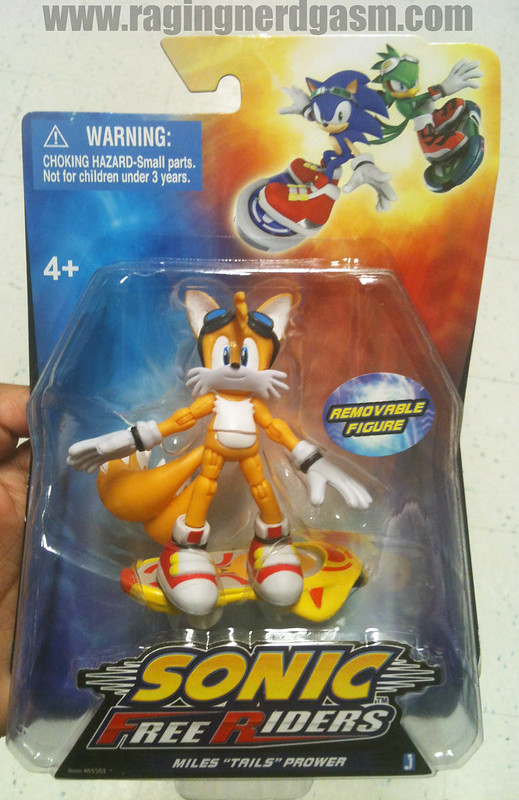 Sonic Free Riders Figures by Jazwares Miles 'Tails' Prower014