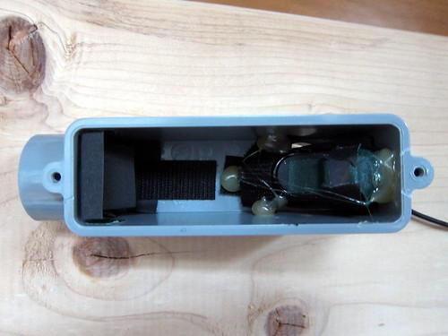 DIY Spectrometer: interior