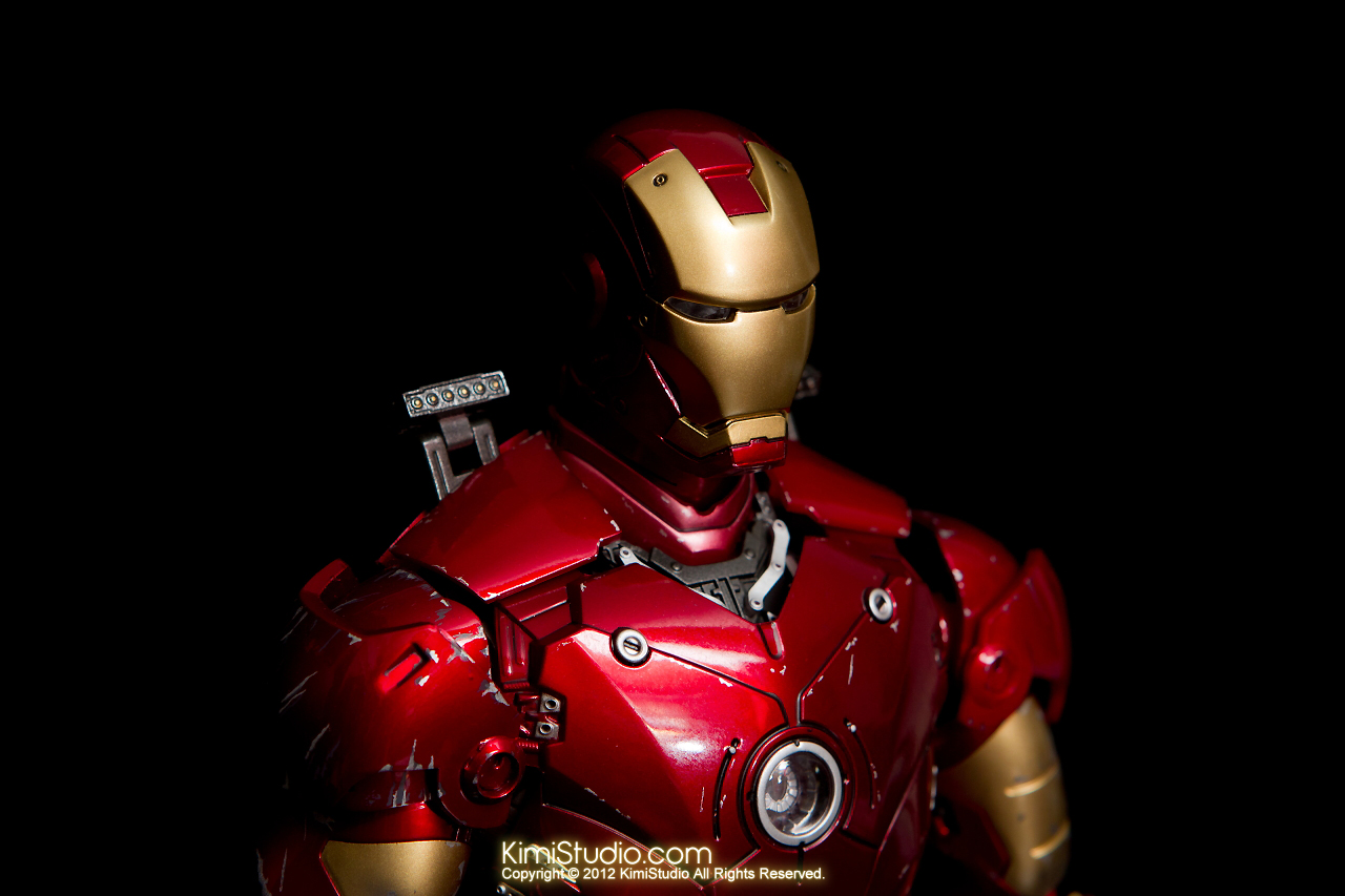 2012.09.13 MMS110 Hot Toys Iron Man Mark III 戰損-006