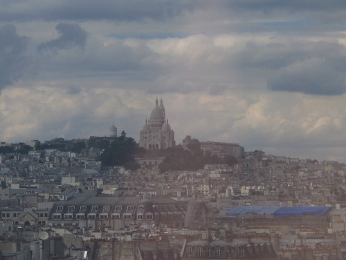 View of Sacre Coeur from the Pompidou