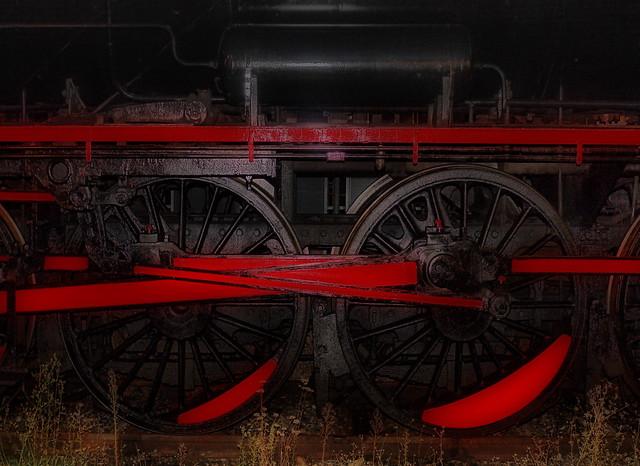 Wheels of the Steam Loco - Dampflokomotive, Sonderzug, Bahnhof Wien Heiligenstadt