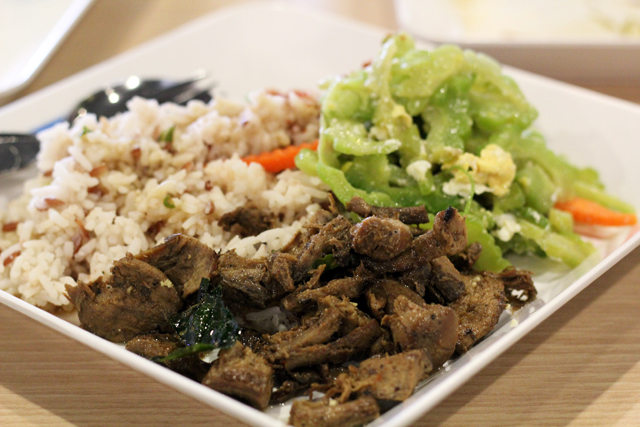 Vegetarian Thai Food at Terminal 21 Food Court