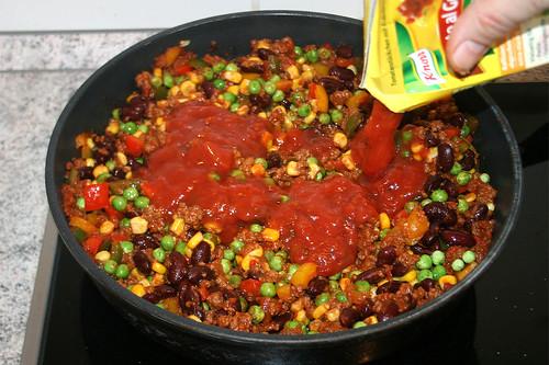 36 - Tomatenstücke unterrühren / Add tomato pieces