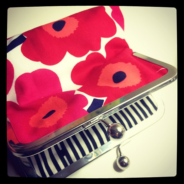 I thought the only thing that could compete with my Liberty pouches was Marimekko!