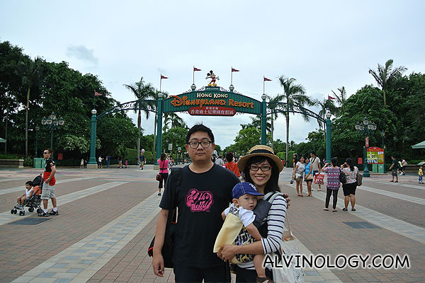 Family vacation in Hong Kong Disneyland!