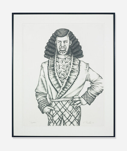 Ed Paschke, Ignacio, 1975, Lot 115