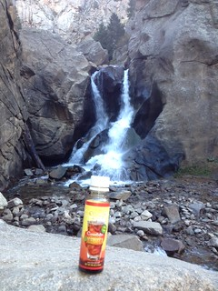 Boulder Falls & some Iced Tea
