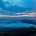 Sea of clouds of Magic time at Tai Mo Shan - Panorama Shoot [6 in 1]