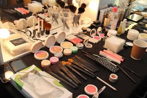 Topshop beauty backstage SS13