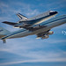 Space Shuttle Endeavour Fly-over - San Francisco Bay Area. Sept 21, 2012 by Wilson Lam {WLQ}