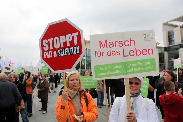 Berlin 22.09.2012 Abtreibung pro und contra  IMG_9913