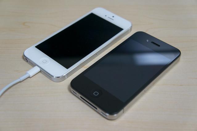 iPhone 5 White, iPhone 4 Black