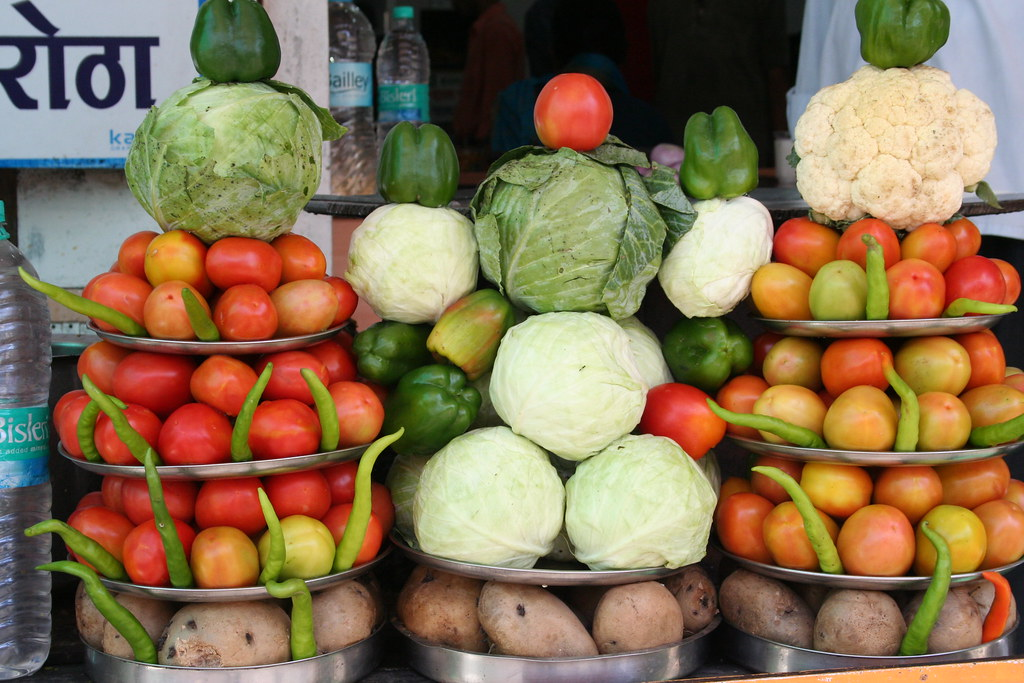 vegitable stall