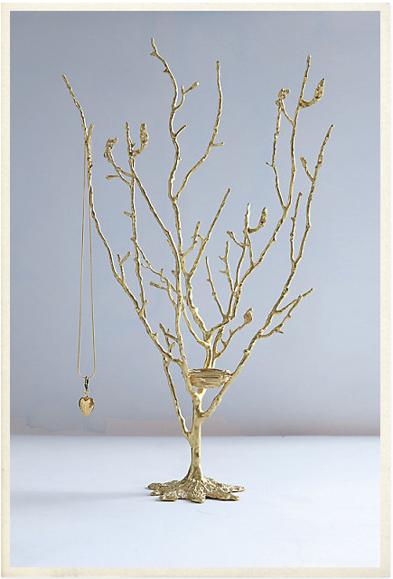 Anthropologie jewellery tree