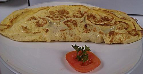 Omelette Sosis
