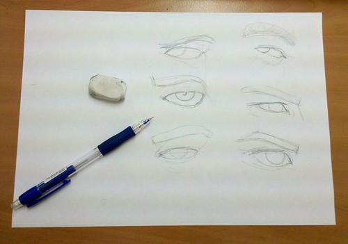 ojos hombres foto