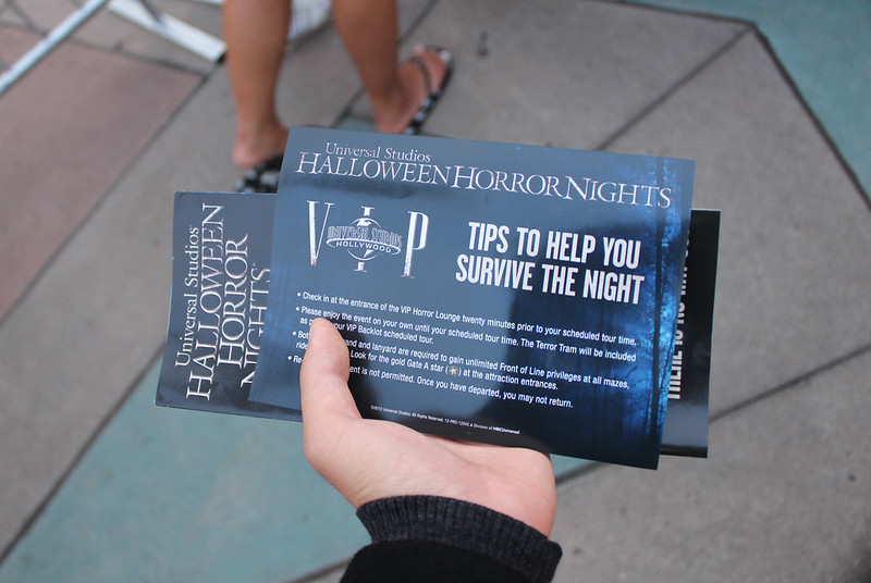 Upper Lot - Halloween Horror Nights - VIP
