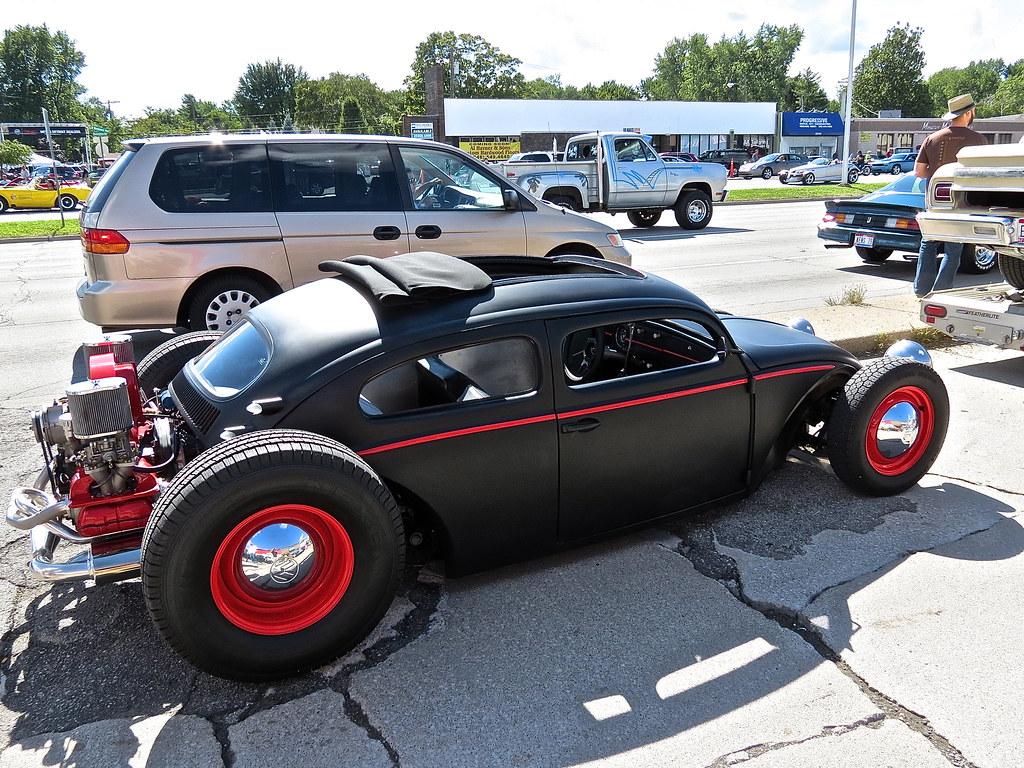 Woodward Dream Cruise: VW Beetle Rat Rod | Mind Over Motor