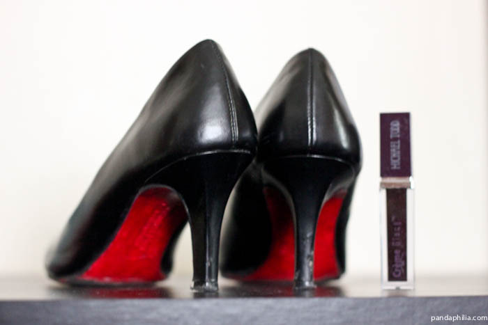 diy christian louboutin pumps