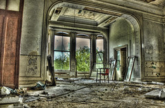 Abandoned - Lillesden School For Girls HDR
