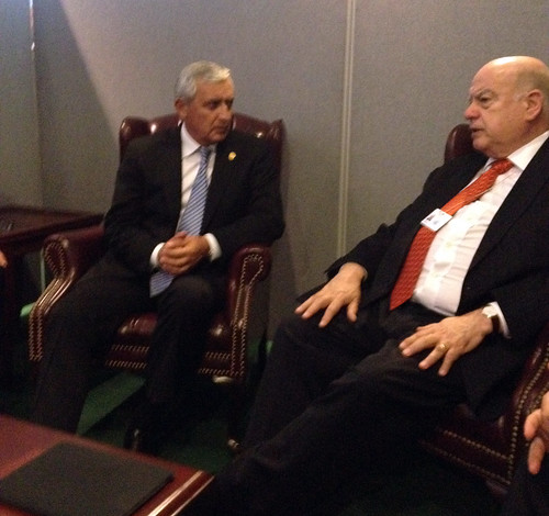 OAS Secretary General Meets with the President of Guatemala