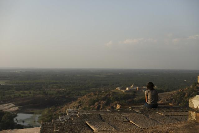 Sravanabelagola view