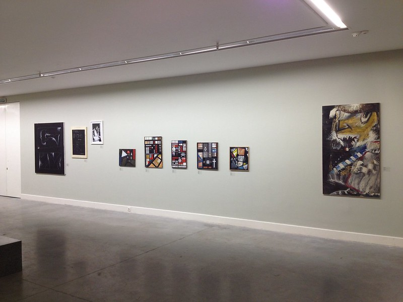 Installation view of Georgian artists of the 80s and 90s