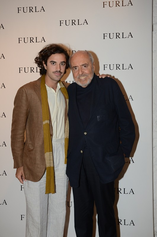 FURLA 11. Guido Taroni con Elio Fiorucci