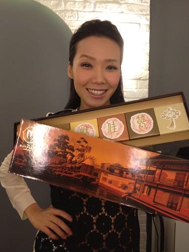 香港文華東方酒店月餅