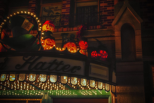 Pumpkin Play At The Mad Hatters by hbmike2000