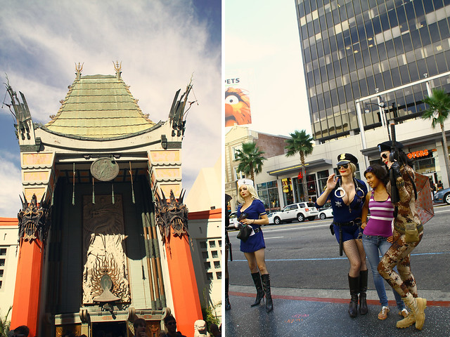 hollywood boulevard, grauman's chinese theater