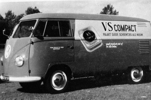 """NS-78-59 Volkswagen Transporter bestelwagen 1954 , bedrijf """"VS Compact"""""""