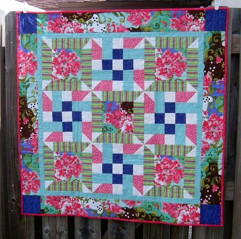 flower challenge quilt 2