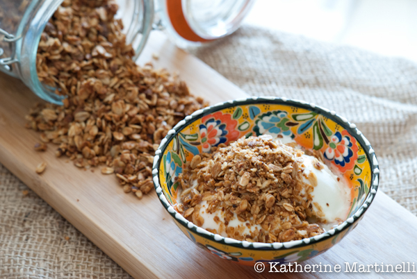 Honey-Pistachio Granola | Guest Post