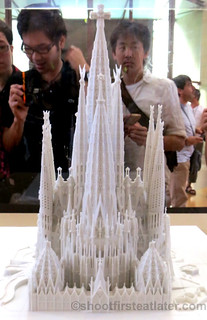 Finished model of Sagrada Familia-002