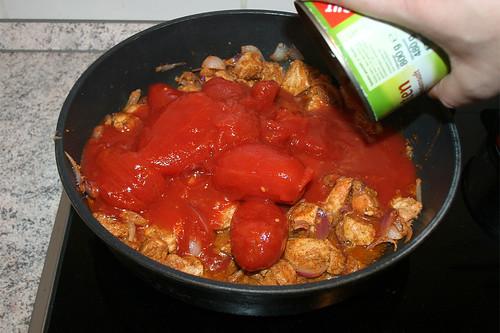 23 - Tomaten hinzufügen / Add tomatoes