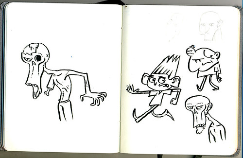 Sketchbook: ParaNorman