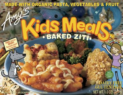 Microwave Amy's Kids Meal