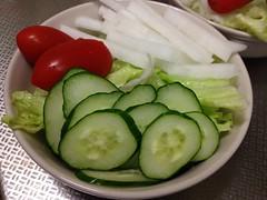 朝食サラダ (2012/9/10)