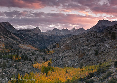 Autumn Sunset, Sabrina Basin (Eastern Sierra Nevada)
