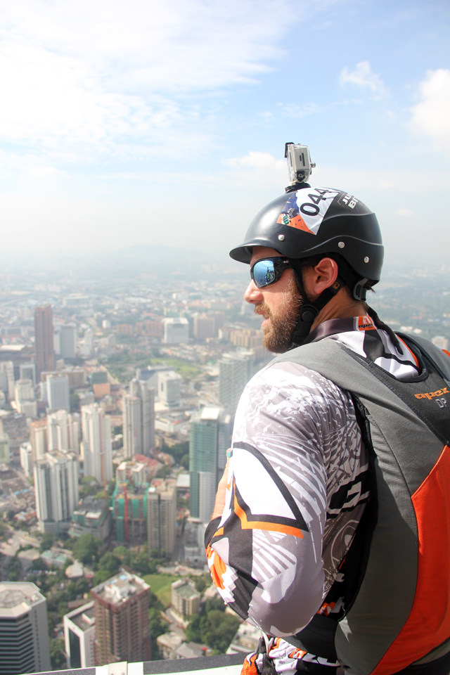 BASE Jumper: Jordan Kilgore