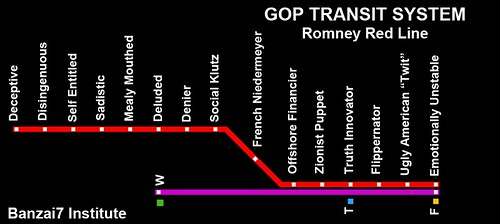 THE ROMNEY RED LINE by Colonel Flick