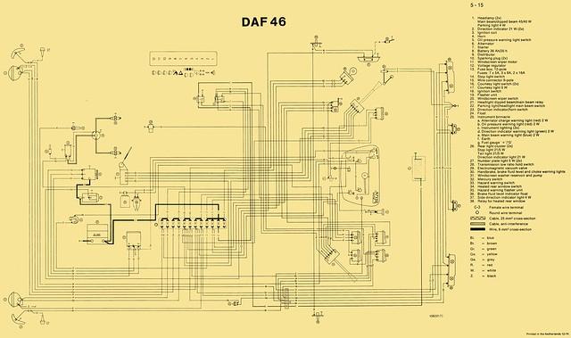 Daf Wiring Diagram:  Essex DAFsrh:essexdafs.proboards.com,Design