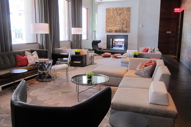 Austin downtown w austin hotel residences living for W living room austin