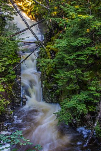 canada waterfall novascotia ellershouse dawsonbrook